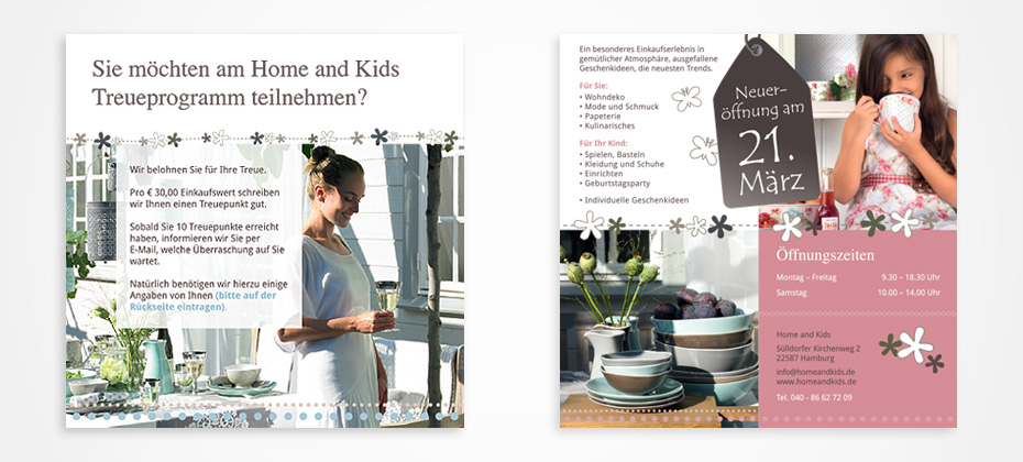 design home and kids broschuere